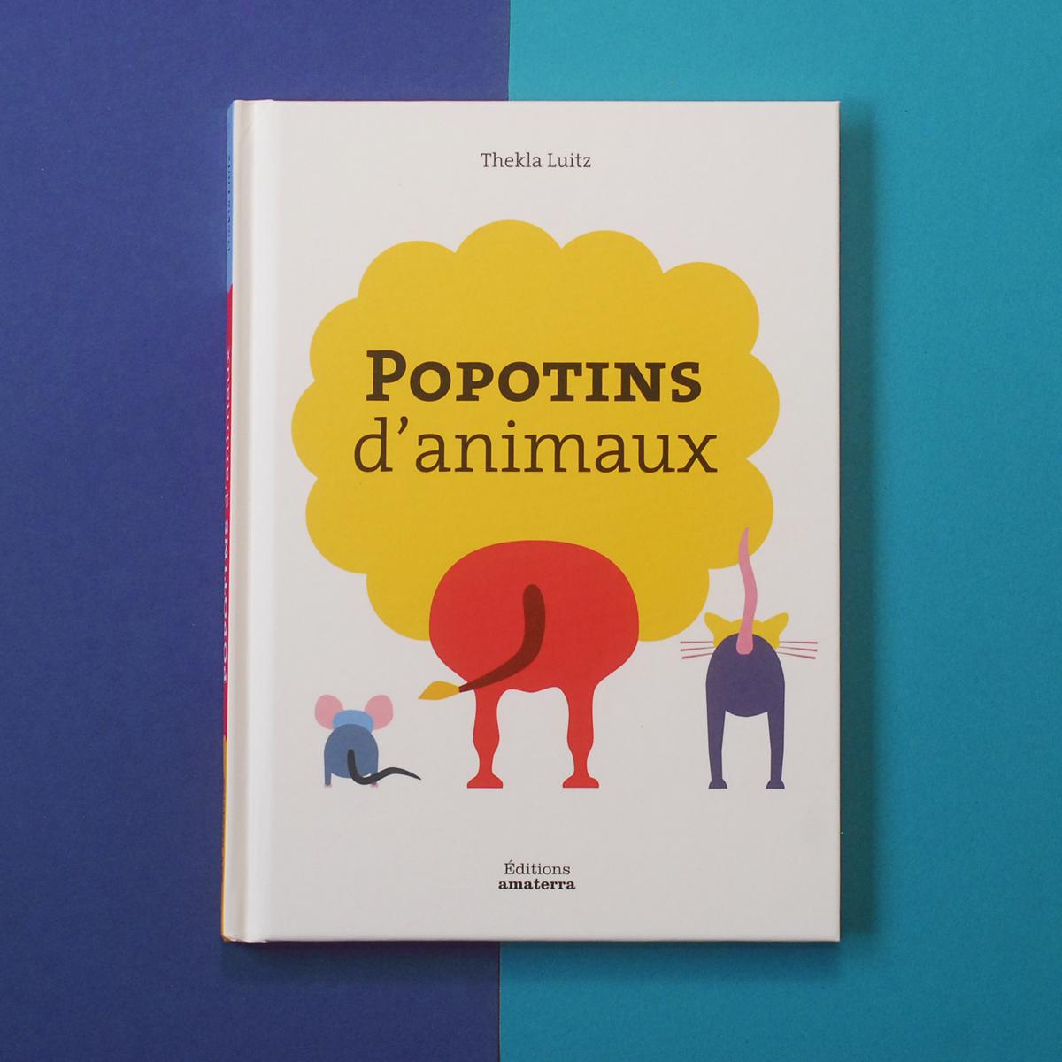 Thekla Luitz – Cover – Popotins d'animaux